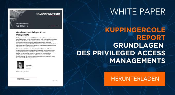 Understanding PAM: Kuppingercole Report