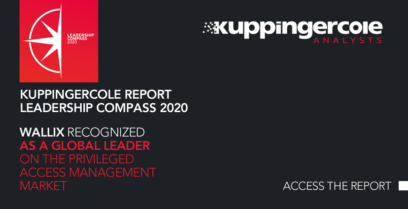 "Report: WALLIX named ""Overall Leader"" in KuppingerCole 2020 Leadership Compass for PAM"