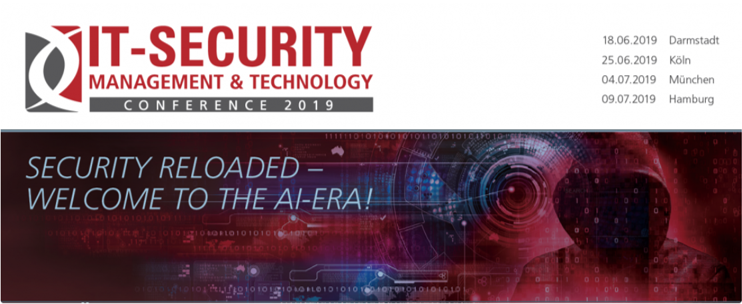 IT-SECURITY MANAGEMENT & TECHNOLOGY CONFERENCE 2019