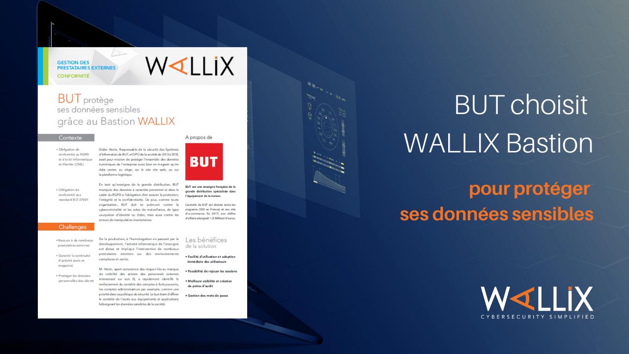BUT protège ses données sensibles grâce au WALLIX Bastion