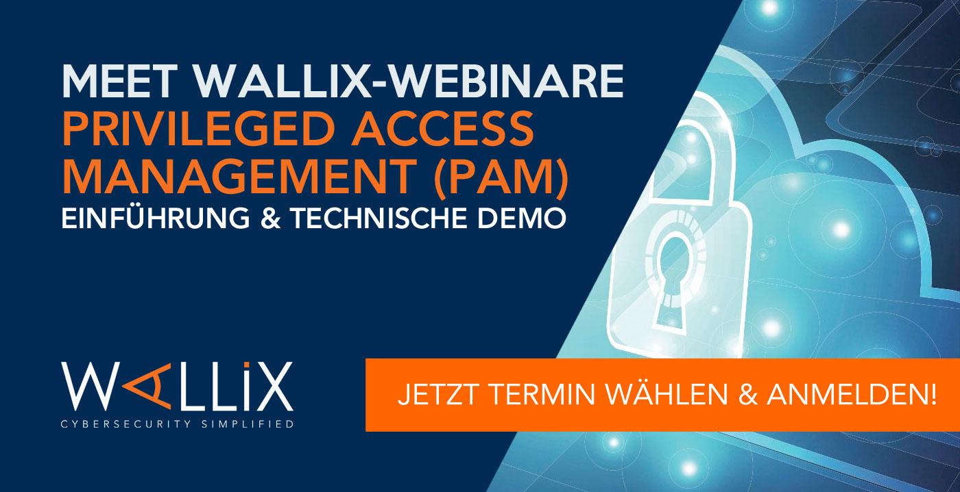 Meet WALLIX-Webinare