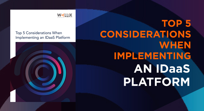 Top considerations when implementing an IDaaS platform