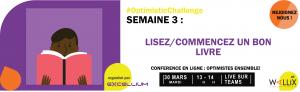 optimistic challenge semaine 3