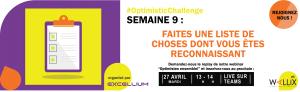 Excellium Optimistic Challenge Semaine 9